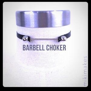 Jewelry - barbell Choker